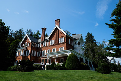 The Mansion at Marsh-Billings-Rockefeller National Historic Park, Woodstock (Vermont)