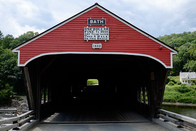 Pont couvert de Bath (1832) - New Hampshire
