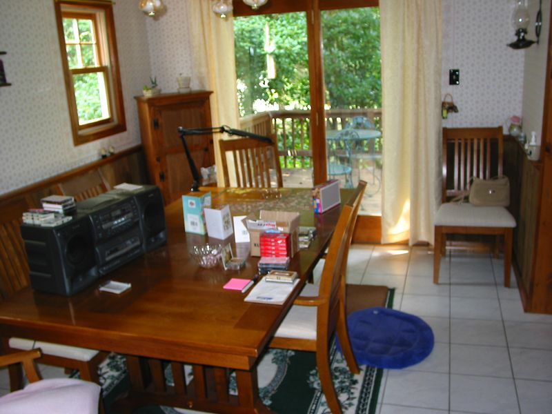 Dining room, before we moved in