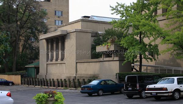 Unity Temple's social hall.