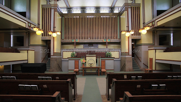 Oak Park Revisited - Unity Temple Tour