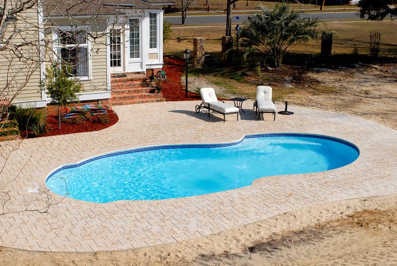 New Construction - Pool at Odum, Georgia