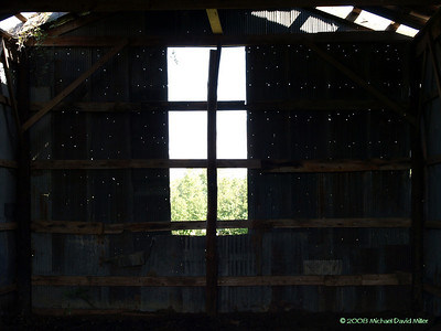 Old Barn. Inside one of my uncle's old hay barns. Oly E510, ZD35