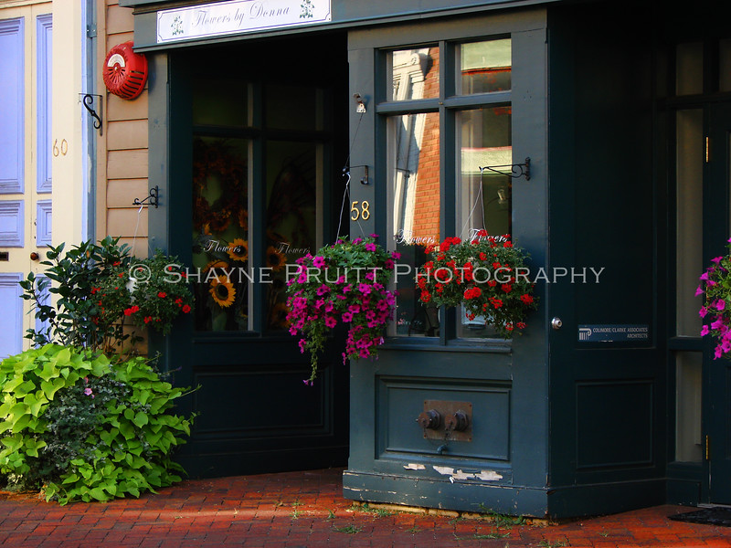 Storefront in Annapolis, Maryland