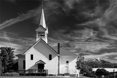 Old church in Prairie City