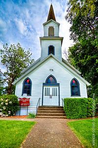 Helvetia Community Church, OR
