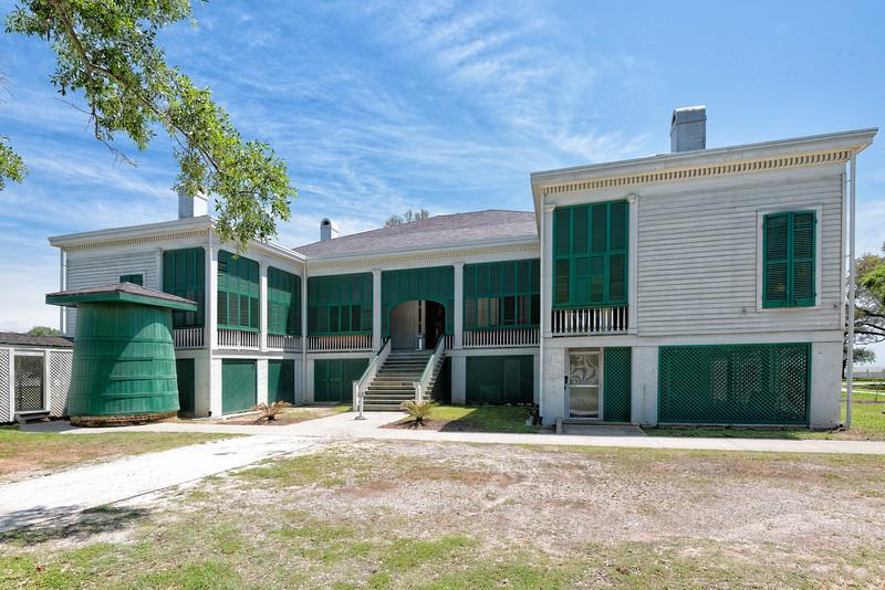 Rear of Beauvoir House