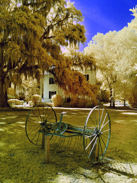 Farm Equipment at Frampton Plantation House