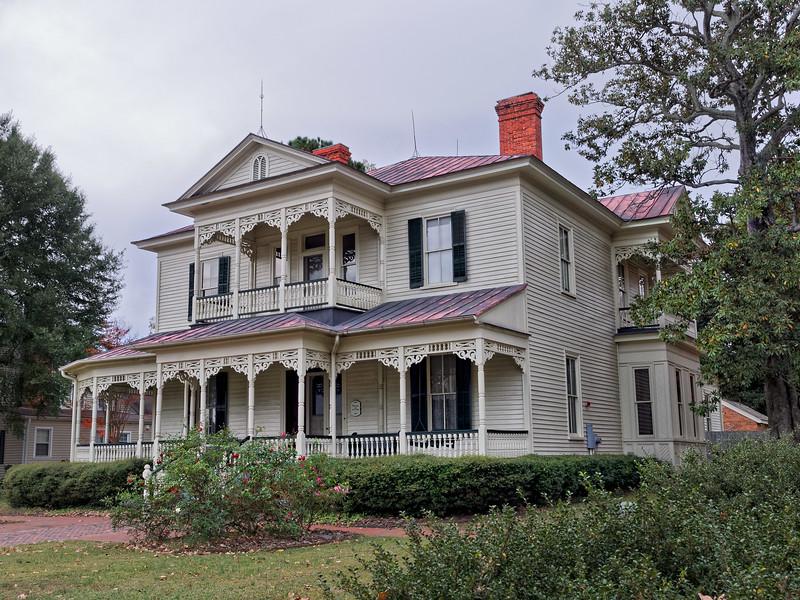 E.A. Poe House, Fayetteville