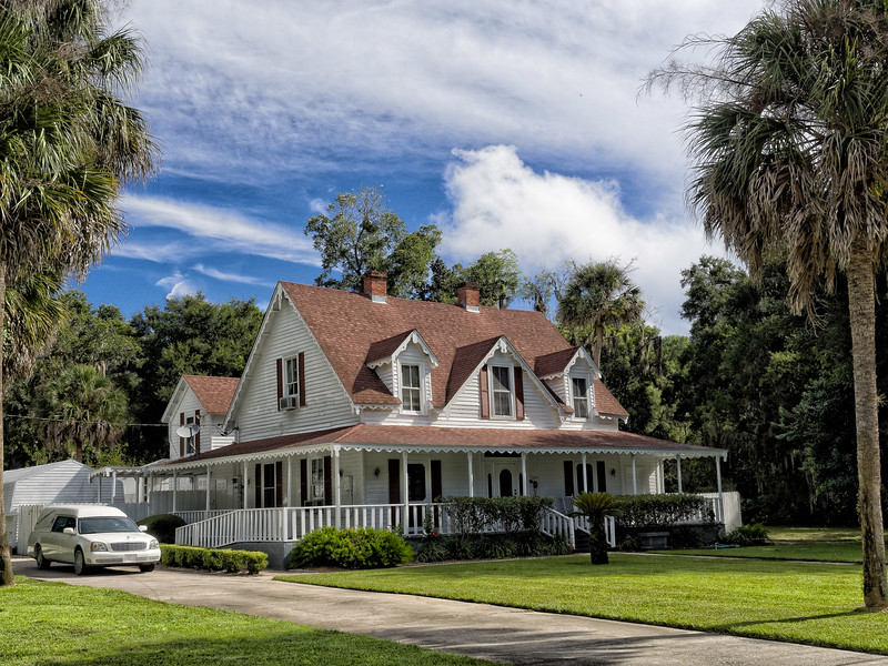 H.A. Vogelbach House, Melrose, Florida.