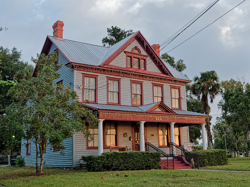 Palatka, Florida's  Tilghman House