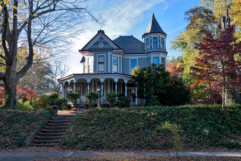 Wake Forest Queen Anne Style Home
