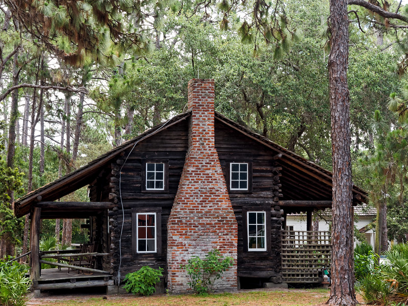 1852 McMullen Coachman Log Cabin