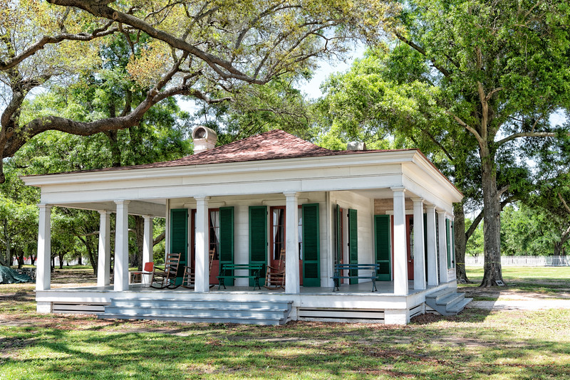 Hayes Pavilion at Jefferson Davis Estate