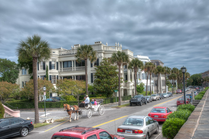 The Battery area Charleston