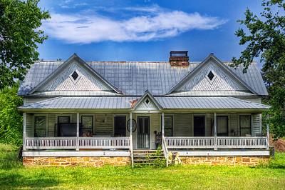 Alberta Horn Burnham Home - New Blaine, AR, ca. 1909