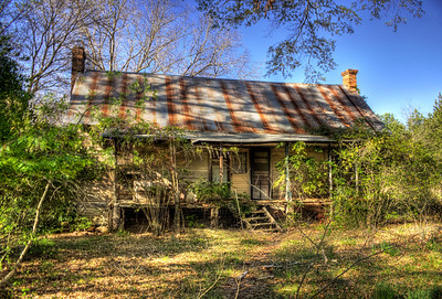 Benny Wright House, Hampton, AR
