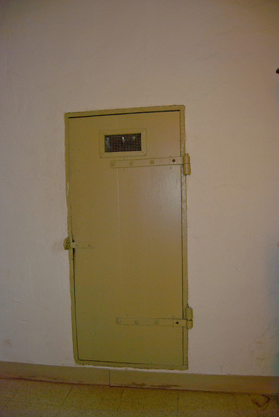 Solitary confinement!
