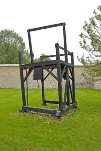 These are the gallows that William Reed was hung on.