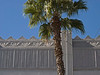 An Art Deco detail with palm tree. A very typical 1929 California design. File No.OldPas3465