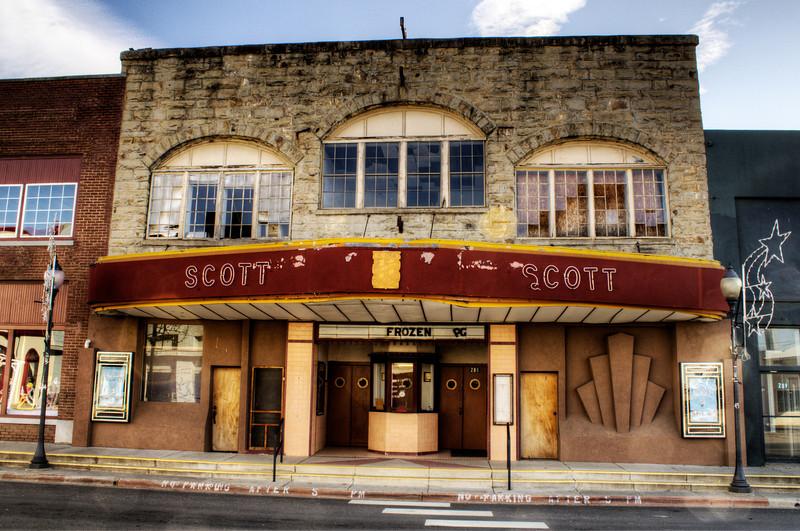 Scott Theater - Waldron, AR
