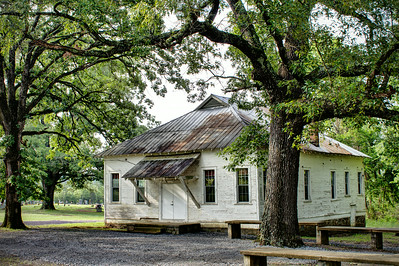 Nimrod Community Center - Nimrod, AR (also has served as a church and school)