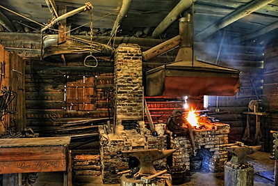 Historic Washington - James Black's Blacksmith Shop