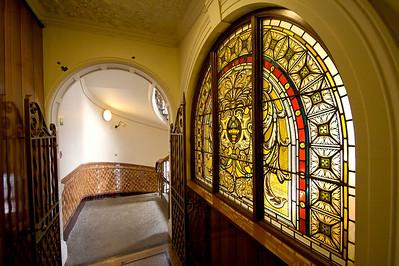Finsbury Town Hall interior detail - corridor