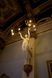 Finsbury Town Hall interior detail - Great Hall