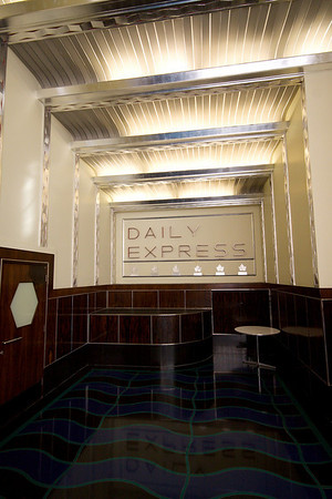 Express Building interior detail