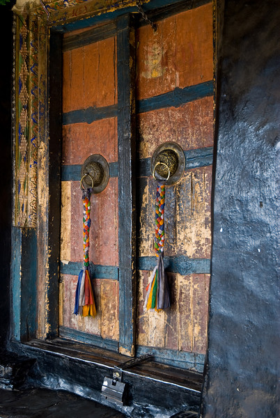 Doors<br /> Thiksey Gompa, <br /> Ladakh-India<br /> 2008