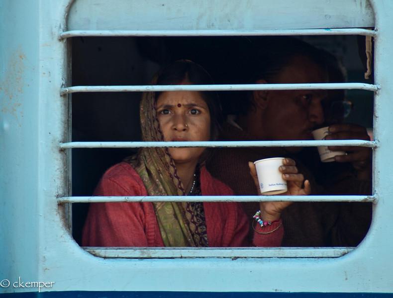 Train Window, India