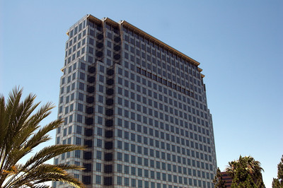 Modern corporate officetower in Souther
