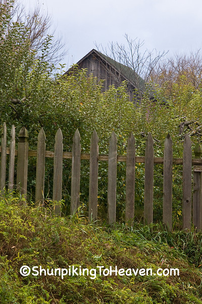 Picket Fence and Barn, Rock County, Wisconsin