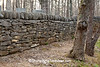 Stone Wall at Hamer Cemetery, Spring Mill State Park, Mitchell, Indiana