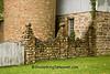 Cobblestone Fence, Silo, and Barn, Portage County, Wisconsin