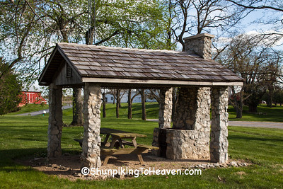 Stone Picnic Shelter, Darke County, Ohio