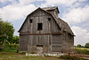 Weathered Gray Barn with 'Face', Cedar County, Iowa