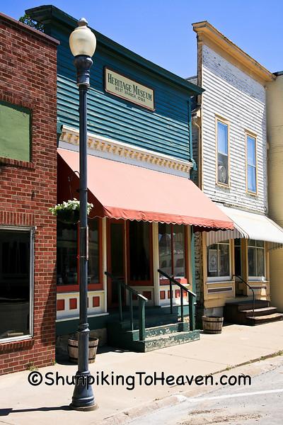 Main Street, West Branch, Cedar County, Iowa