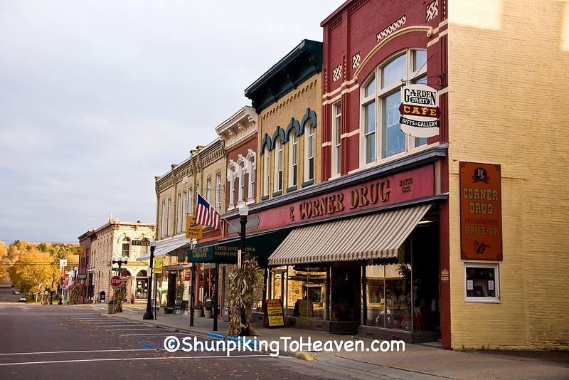 Downtown Baraboo, Sauk County, Wisconsin