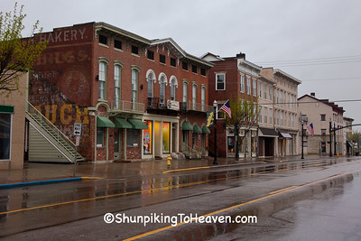 Rainy Morning in Circleville, Ohio