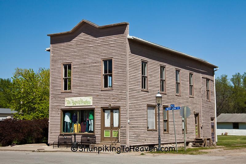 Old Building, Bonaparte, Iowa