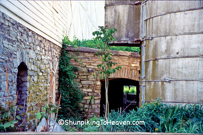Stone Cellar and Concrete Silo at the Star Barn Complex, Dauphin County, Pennsylvania