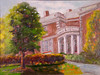 Signed original oil painting by Potomac resident Bobbi Schulman.