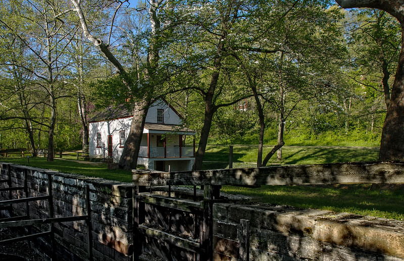 Lockhouse 6, C&O Canal, Montgomery County, Maryland