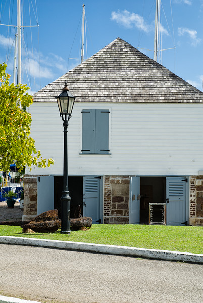 Commissioner's Room and Pay Office, Nelson's Dockyard, English Harbour, Antigua