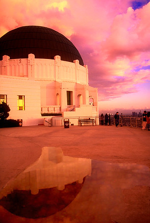 View of Griffith Observatory #3 - Los Angeles, CA, USA
