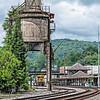 C&O concrete coaling tower, Ronceverte, West Virginia