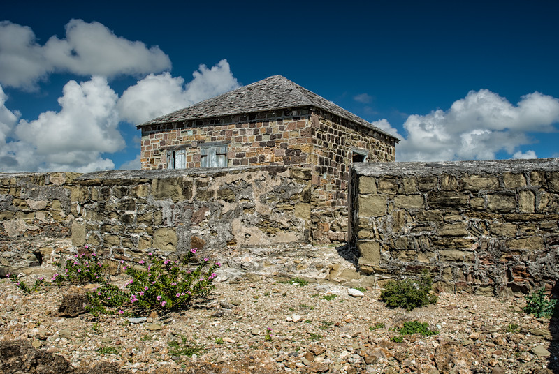 Guard House, Fort Berkeley, Nelson's Dockyard, English Harbour, Antigua