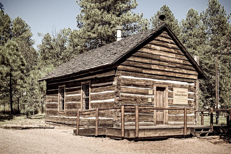 Strawberry Schoolhouse, Fossil Creek Road, Strawberry, Arizona